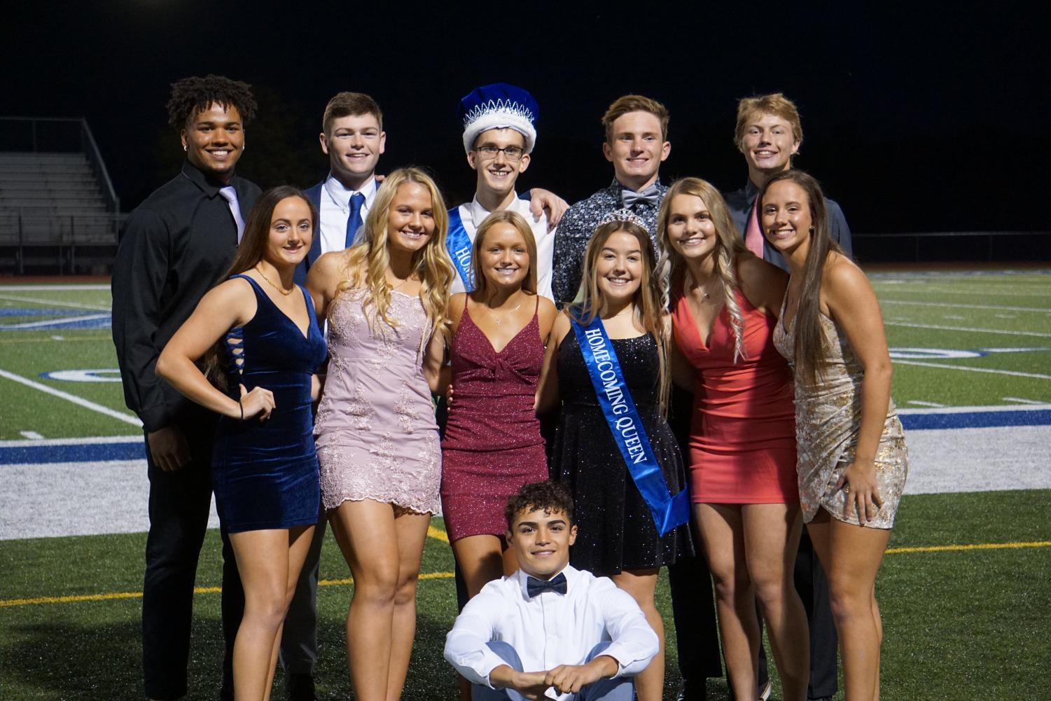 Congratulations to the 2020 Homecoming Court!