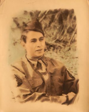 George Munieo stationed in Alaska in WW2.